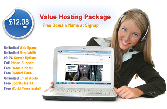 Value Hosting Package